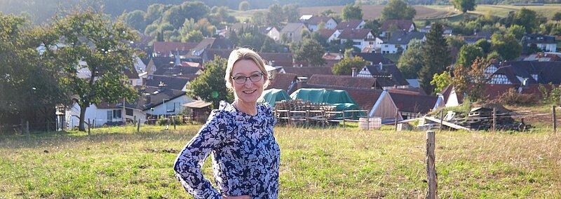 Anja Dorothea Vogt Ein Blick über Rodau